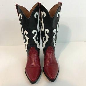 Nine West Womens Western Cowboy Boots Size 7 M